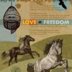 Horses-flat